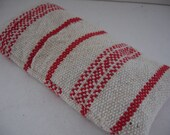 Pine  Maine Balsam pillow red purple Valentine day gift hand-woven