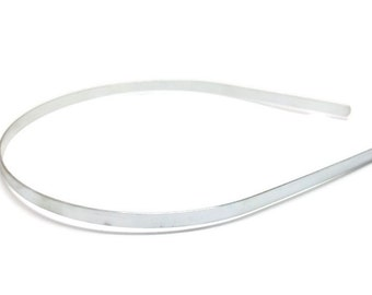 50 Metal Headband Blanks - 5mm (3/16 inch)