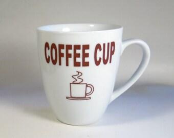 Coffee Cup Techie Gift Ceramic Generic Humorous Mug
