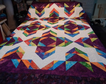 Bold & Beautiful Bed Quilt