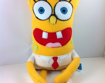 Spongebob Square Pants -Made to Order Plush Toy.