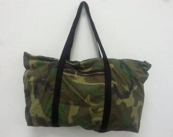 Camo Tuffle Bag