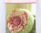 Anna Griffin Peony Pillow Pattern designed by me