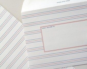 A1 size stationery set of 10 - French