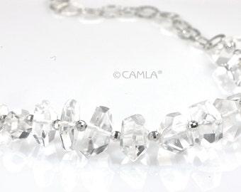 SALE Crystal Iceberg Necklace