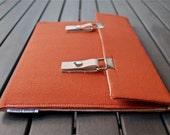 15 MacBook Case / 15 MacBook Pro Case / 13 MacBook Pro Cover / MacBook Cover / Microsoft Surface Pro 4 Case - Rich Orange
