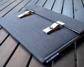 MacBook Air Case Laptop Sleeve Macbook 12 Case - Gray Linen