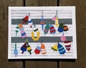 9-Pack Beach-Inspired Greeting Cards (Blank Inside)