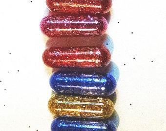 Glitter Pills, Pills Glitter Pills , Muticolor Glitter, New Years Favor, Gag Gift, Raver Gift, Burst of Glitter, Throwing Glitter,10 Pills,
