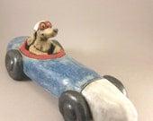 Easy Rider...Stoneware Sculpture