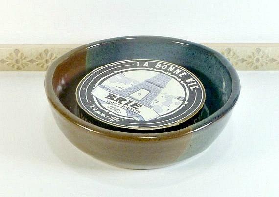 Stone Baking Dish : Stoneware brie baking dish