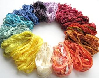 3 x 7m Ribbon choose your colours