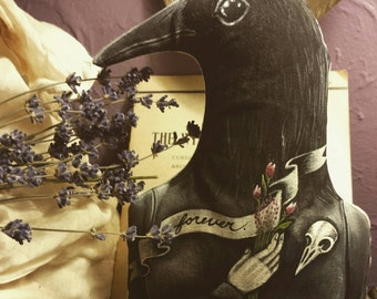 Forever Limited Run Print Poppet by Macabre