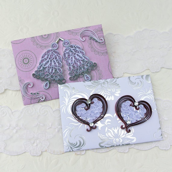 Envelopes wedding paper quilling mini small by for Quilling kitchen set