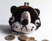 Amigurumi Crochet PDF Pattern  Download - Bulldog Coin purse
