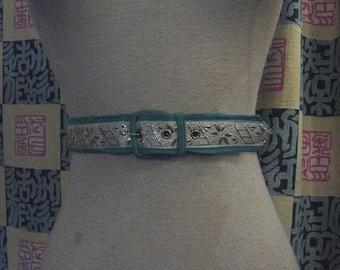 50s SOUTHWESTERN Belt 1950s Sz 32 To 34 Waist