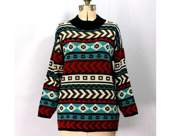 Vintage 80s Tribe of Fellow Souls Sweater