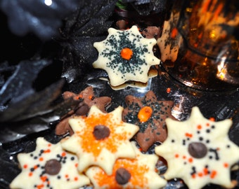 Halloween Butter Cookies - 6 dozen homemade cookies