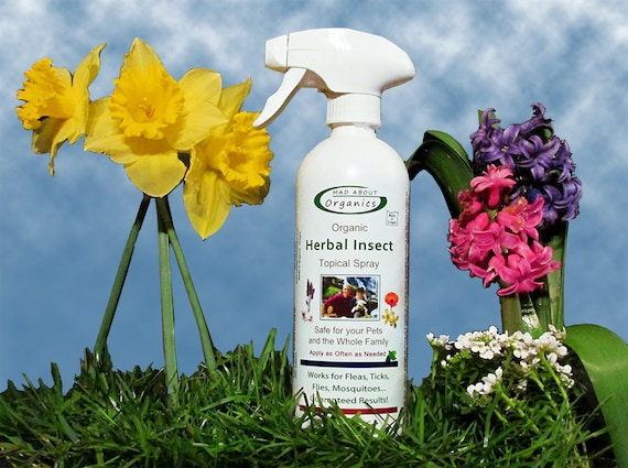 Organic Herbal Insect Relief Spray 16oz