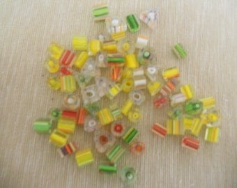 Glass Cane Beads
