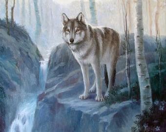 Lapis LOBO Original  oil painting 20x16 inches