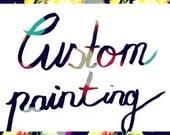 Custom painting to Brigitte