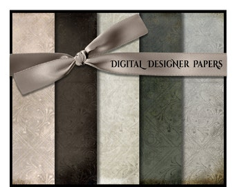 Digital Papers - GRACE - 12x12 Expertly Designed Photography Backdrops for Photographers and Scrapbookers.