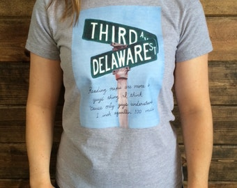 Roseanne Third and Delaware t-shirt
