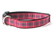 Fraser Tartan Small/Medium Dog Collar