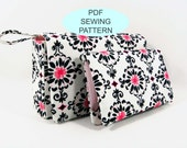 PDF Sewing Tutorials - Instant Download - diaper clutch and first aid pouch set