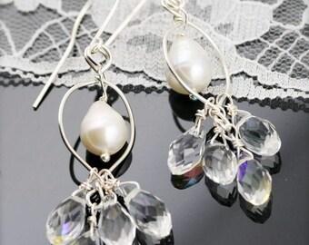 Eden dangle earrings