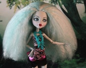 Altered Doll, High Fashion Doll, Repainted Doll, She's Such a Doll, Custom Rerooted OOAK Art Doll