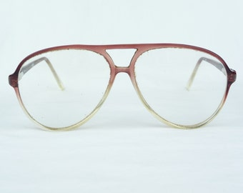 John Weitz Eyeglasses, Plastic Frames, Vintage Eyewear, Designer Eyewear, Large Lenses, Wine Colored Frames, Vintage Accessory,Hipster,Retro