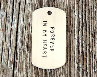 Dog Tag Sterling Silver Charm, Stamped Dog Tag Charm, Sterling Silver Dog Tag Charms, Dogtag Charm, Dogtags, Sterling Dog Tag, Silver Dogtag