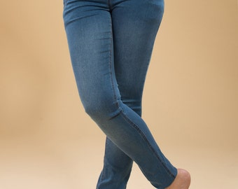 blue worn out - dark blue - black -  maternity pants - maternity skinny pants - maternity jeans - maternity clothes - maternity trousers