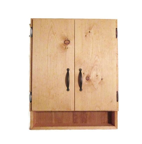 Rustic Furniture Wood Medicine Cabinet Bathroom Decor
