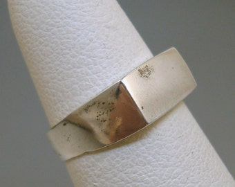 Mexican Silver Ring - Engravable