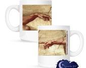 The Creation of Man by Michelangelo 15 oz Coffee Mug