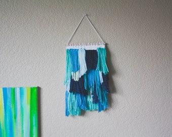 Waterfalls - Woven Wall Hanging