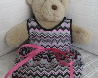 Teddy Bear Clothes, Charlene Dress