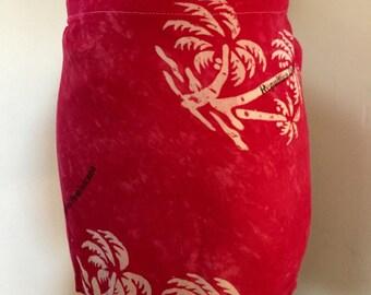 Vintage Swimsuit CoverUp Skirt