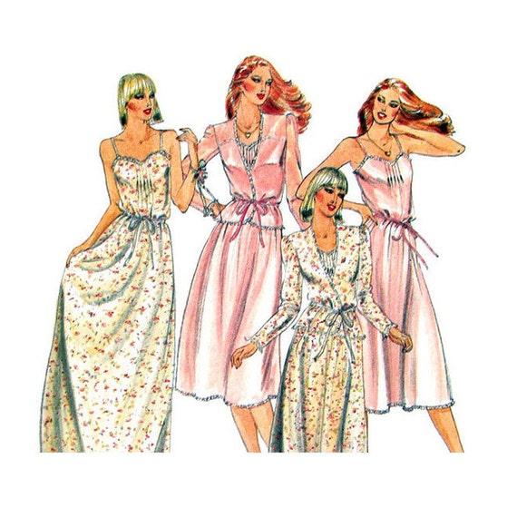 Camisole Dress Sewing Pattern Butterick 3911 Jacket Maxi Dress Slip Sundress Women Size 8