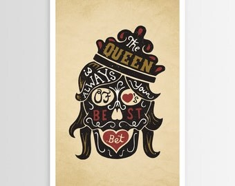 Alpha-Tone's Queen of Hearts POSTER
