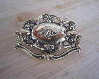 Ornate Brass Drawer Pull Hardware