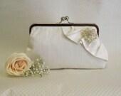 Bridal Clutch - Wedding Clutch - Bridesmaids Clutch - Ivory Bridal Clutch - Ivory Clutch - Wedding Purse - Bridesmaids Gift - Giselle Clutch