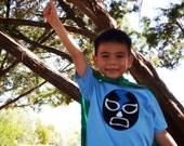 Luchador Negro - Black Mexican Wrestler Toddler T-Shirt