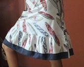 Wrap Skirt, surfboards (one size fits most small - large) with pocket.