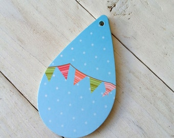 Wedding Decor Tags, Favor Tags, Baloon Escort Tags, Balloon Shaped Wish tree Tags 20 PCs High Quality Recycled Paper