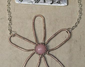 Wild Daisy Collection Bar Necklace