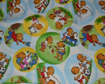 Welcome to Bear Country - White by Berenstain Bears - Moda - 1 Yard